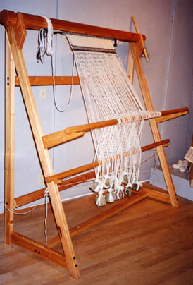 Sami Warp Weighted Loom