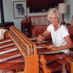 """54"""" 8-harness oak loom"""
